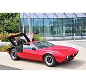 Mint Condition 1969 De Tomaso Mangusta Goes Under The