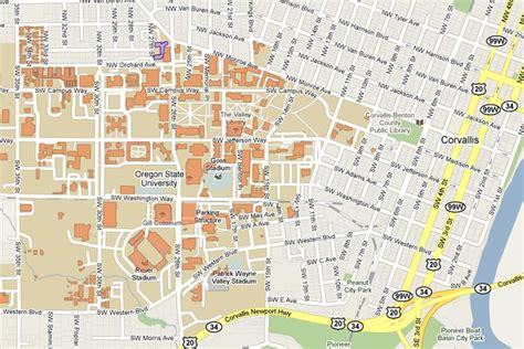 map of oregon universities csil visitors