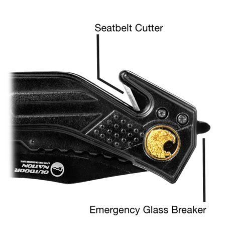 Car Glass Breaker Seatbelt Cutter With Led Flashlight Aksesor 1 outdoor nation rescue knife seatbelt cutter glass