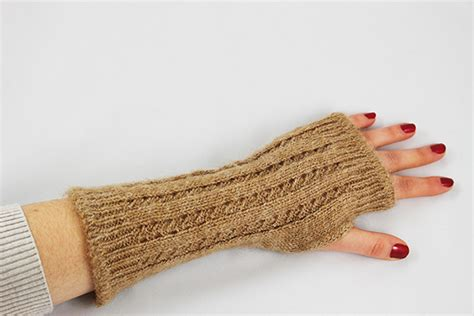 Pointelle Leaf wrist warmer pointelle knit linden leaf gifts fair trade and eco friendly products terre