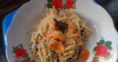 Bakul Kuliner Populer 99 Resep Masakan Rumahan resep tumis bihun sederhana simple stir fried vermicelli recipe resep masakan indonesia