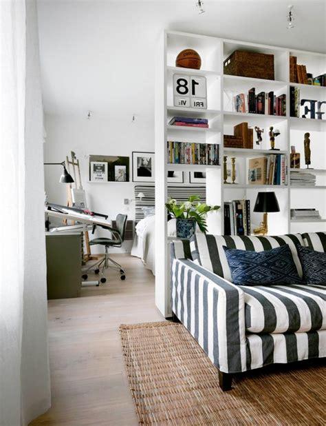 Bien Idee Separation Chambre Salon #1: coin-chambre-dans-salon-s%C3%A9parer.jpg