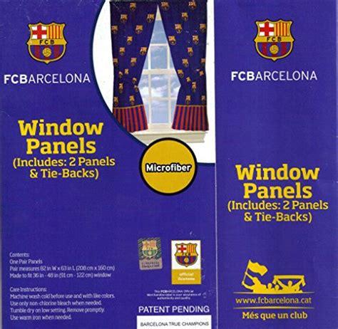 fc barcelona curtains fc barcelona fcb window panels curtains drapes football