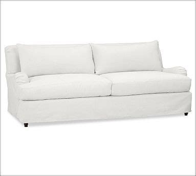 white slipcovered sofa slipcovered sofa white for the home pinterest