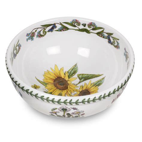 Portmeirion Botanic Garden Bowls Portmeirion Botanic Garden Classics Salad Bowl Sunflower 92 You Save 23 00
