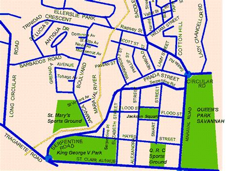 map of port of spain streets map of port of spain streets 28 images downtown port