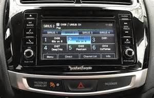 Mitsubishi Outlander Navigation System Update Post Tech Review 2016 Mitsubishi Outlander Sport