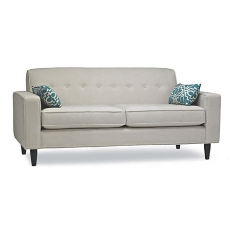 apartment size sectional sofa leather light grey blue