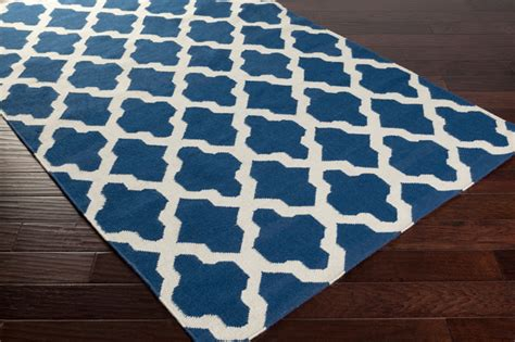 Blue And White Rug rug in blue and white by artistic weavers rosenberryrooms