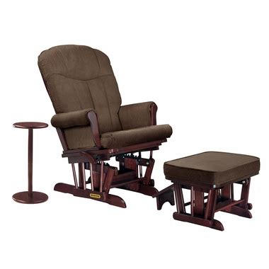 shermag sleigh glider and ottoman shermag sleigh reclining glider ottoman and side table in