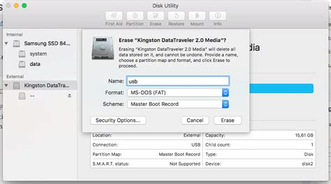 format flash disk mac os x how to format usb flash drive to fat32 in mac os x