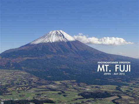 pinoy mountaineer mt fuji expedition
