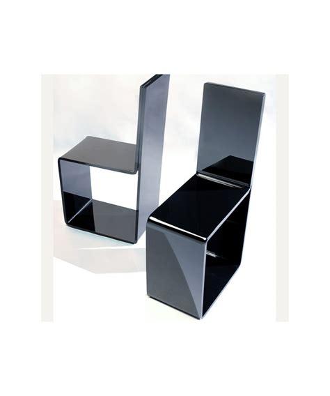 sedia in plexiglass sedia in plexiglass nero