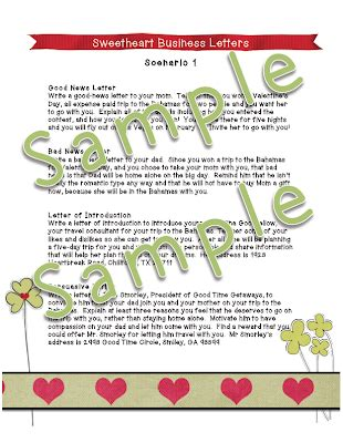 supplement 8 letters dayley supplements sweetheart business letters scenario