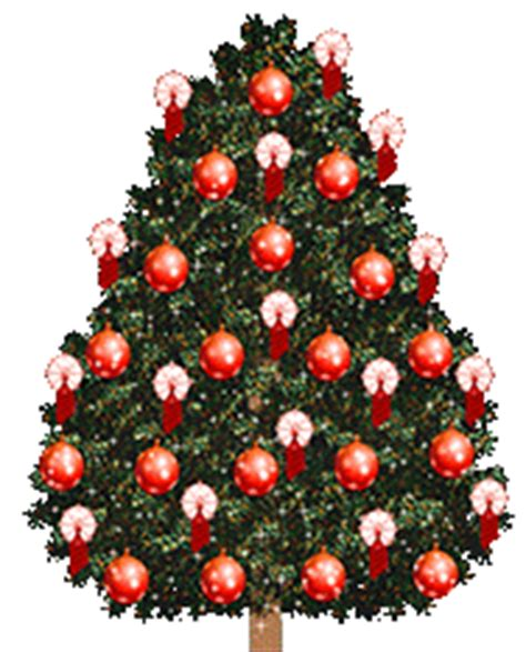 animated christmas trees christmas tree clipart animations