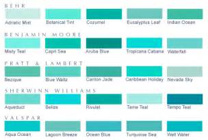 light green color names shades of teal twenty five blue green paint colors 5