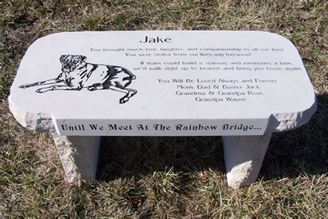 memorial granite benches engraved stones by stoneworx