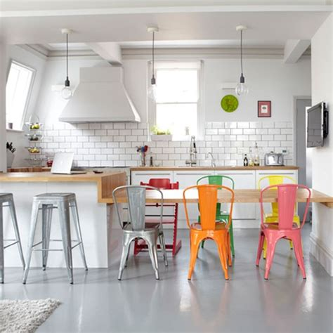 Pops Kitchen by Take 5 All About A Pops Of Color In Your White Kitchen