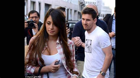 messi and wife lionel messi and his wife and children youtube