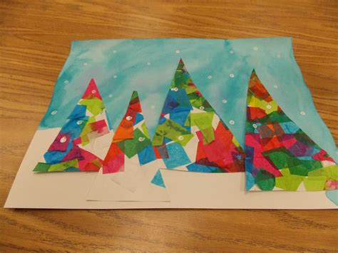 christmas craft art grade 3 great idea for second grade project description from i searched for this on