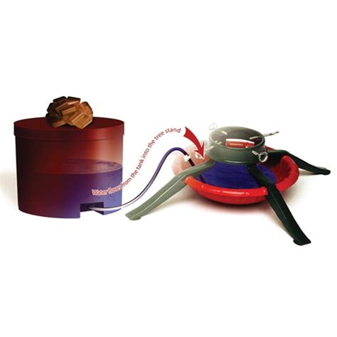 christmas tree watering present gift tree watering system 400001 free shipping