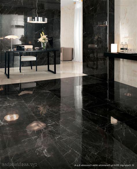 carrelage cuisine noir brillant salle de bain sol noir mur gris