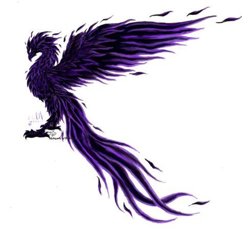 phoenix tattoo purple phoenix bird black phoenixmake black phoenix