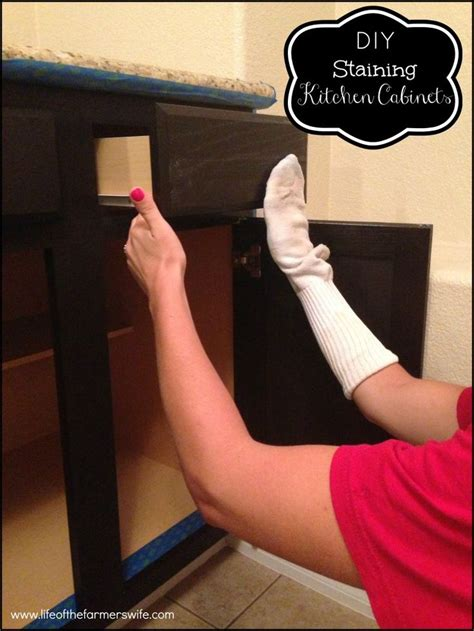 how to stain bathroom cabinets darker diy bathroom cabinet staining woodworking projects plans