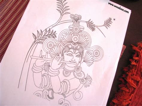 Mural Designs Outline by When Mural Meets Decoupage Indian Woodworking Diy Arts Crafts