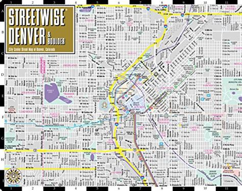 streetwise prague map laminated city center map of prague republic michelin streetwise maps books streetwise denver map laminated city center map