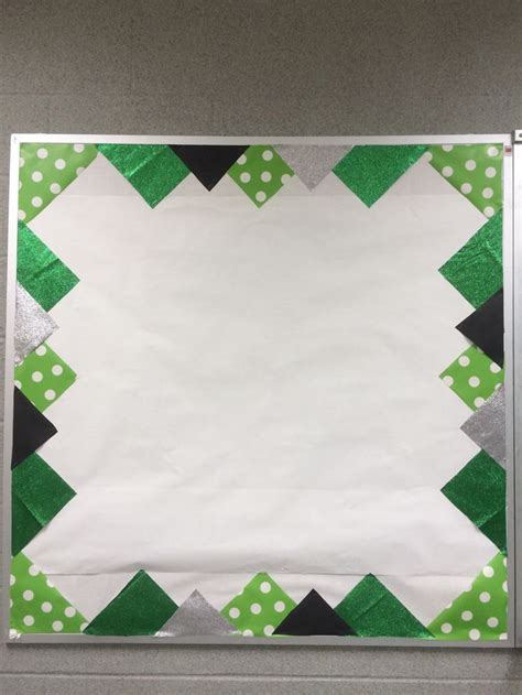printable poster board borders bulletin board with school colors border add athletic