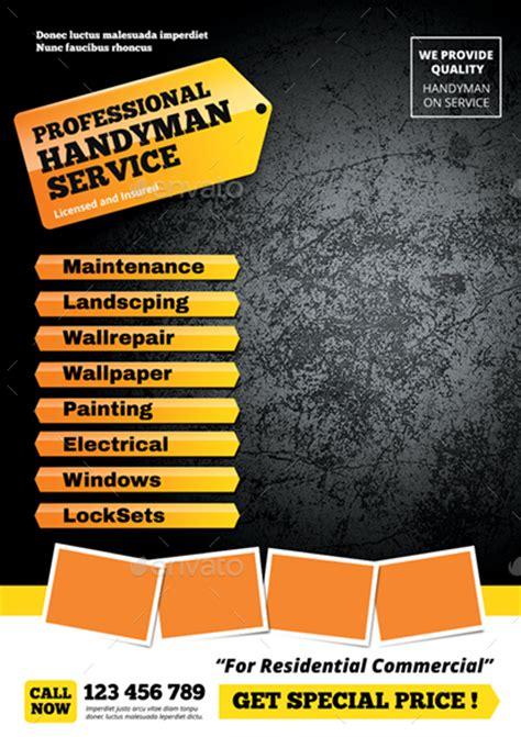 handyman flyer  monggokerso graphicriver