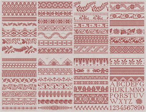 english patterns com 50 french english border designs instant download pdf