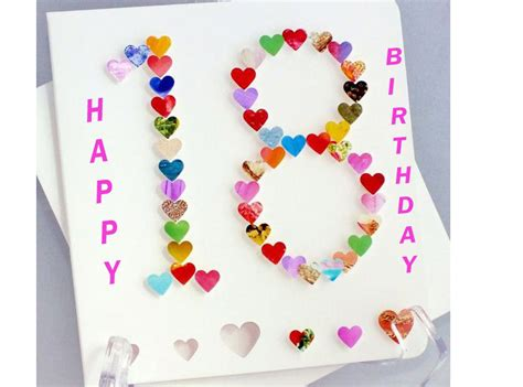 birthday themes 18 year old 18th birthday wishes card messages for 18 year olds