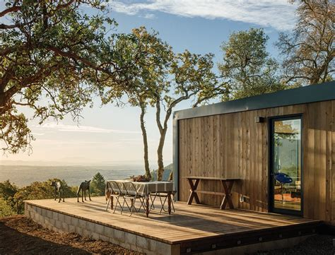 prefab in law units this northern california prefab gets a dose of universal
