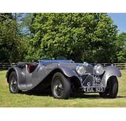 1936 Jaguar SS 100 Roadster Retro S Eq Wallpaper