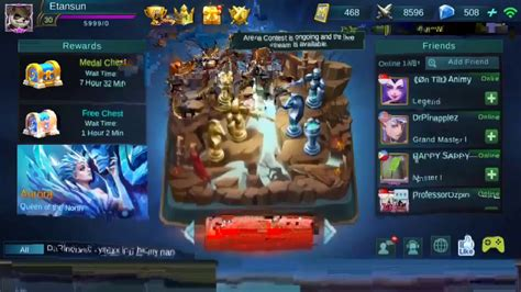 Costum Mobile Legends Mob26 skin giveaway at 3k subs custom w viewers mobile legends