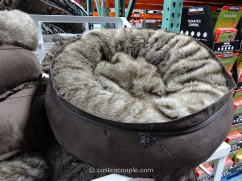 costco pet beds give your dog a bed to snuggle in with the kirkland