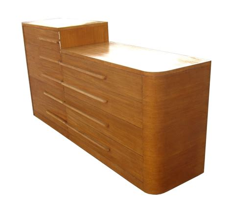 Deco Dresser For Sale by Deco Streamline 2 Maple Dresser For Sale