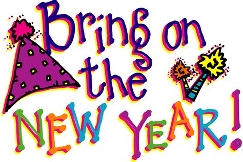new year clip set new years transparent clipart 28