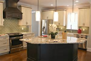 glass top kitchen island kitchen charming l shape kitchen decoration using