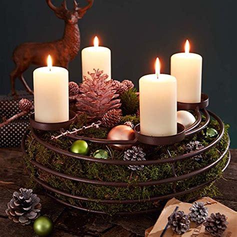 Adventskranz Kerzen Untersetzer by Advent Wreath Candle Holder Metal 39 Cm 216 Kaufen