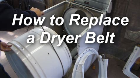 replace  belt   maytag dryer youtube