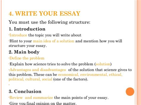 how to write an introduction to a scientific research paper how to write a science essay