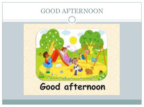 imagenes de good morning good afternoon los saludos en ingles