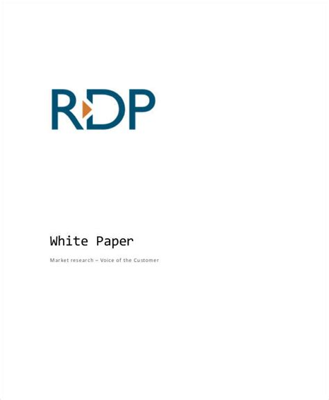 white paper in research 36 sle white paper templates