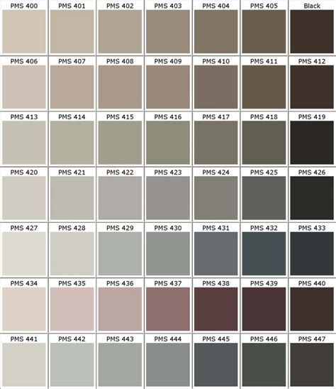 pantone pms colors chart color matching for powder coating part 6