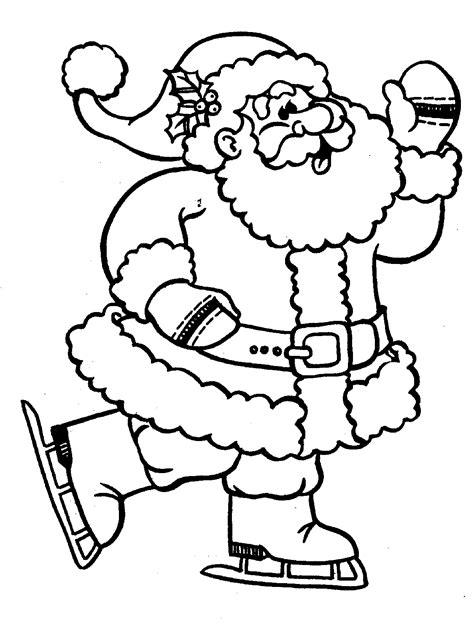 german santa coloring page christmas coloring