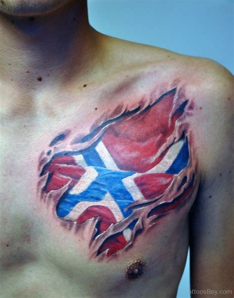 american flag chest tattoo flag tattoos designs pictures page 4