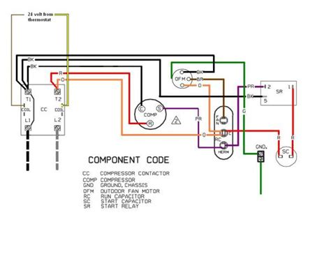 capacitor fan regulator circuit diagram replacing a ge 3 wire condenser fan with a 4 wire universal doityourself community forums